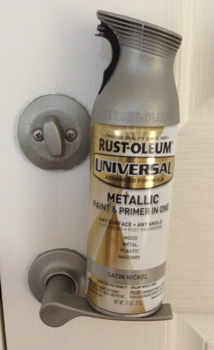 Paint Door Knobs Rustoleum